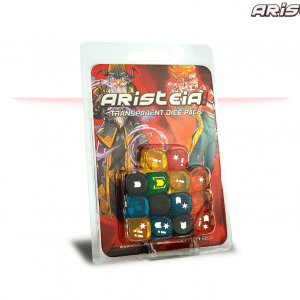 Aristeia!: Transparent Dice Pack