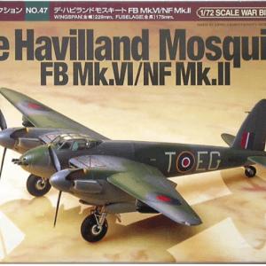 1:72 Tamiya: De Havilland Mosquito FB Mk.VI (60747)