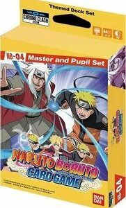 Naruto Boruto Card Game – Master And Pupil Set (Ingles)