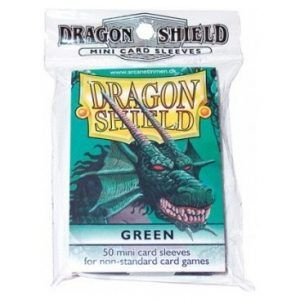 Dragon Shield: Japanese Art Sleeves – Classic Green (50 Sleeves)