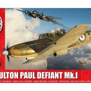 1:48 Airfix: Boulton Paul Defiant Mk1