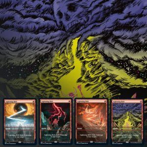 Magic The Gathering: Secret Lair Drop Series – Mountain, Go