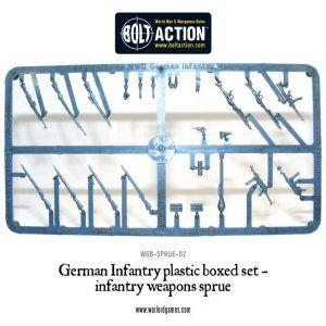 Bolt Action: German Weapon Sprue