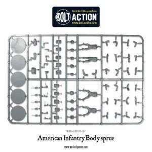 Bolt Action: US Infantry Sprue