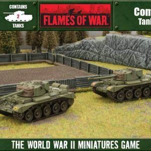 Flames Of War: Comet (Plastic 2-Set)
