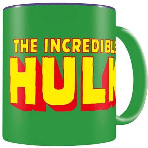 Taza: Logo Hulk Verde-Lila (33cl)
