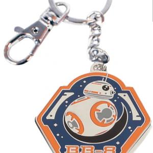 Llavero: Star Wars BB-8 Borde Naranja Metal