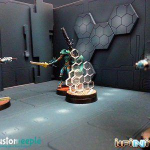 Infinity: Nano Pantalla (1 Ud) (Hexagonos)